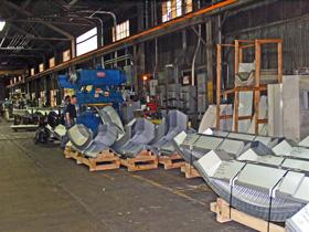 Lekki hangar łukowy TG Hangars - linia produkcyjna hal łukowych TG Buildings.